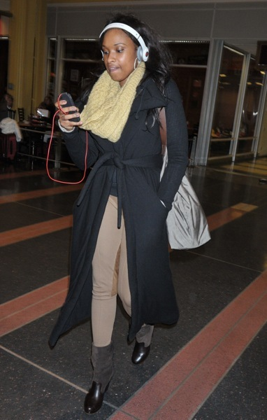 Jennifer Hudson&#039;s airport style