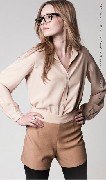 Hudson Short and Blouse from Holiday 2011 Collection