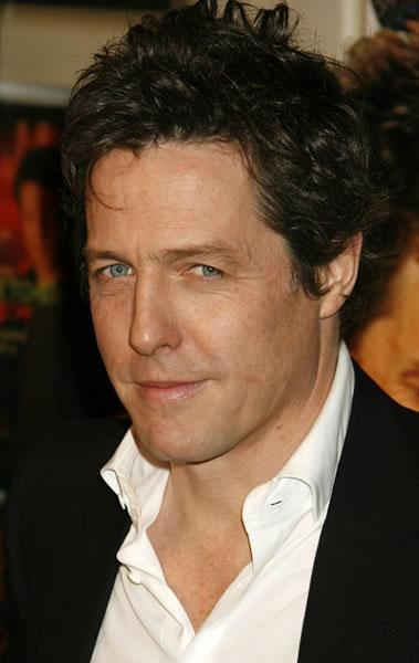 Hugh Grant at the Hollywood premiere of his movie 'Music and Lyrics' costarring Drew Barrymore.