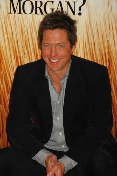 Hugh Grant attends a photocall for his film 'Did You Hear About the Morgans?' in Madrid, Spain.