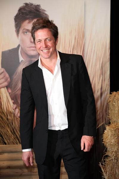 Hugh Grant arrives at the Sydney premiere of his film &#039;Did You Hear About the Morgans?&#039; costarring Sarah Jessica Parker.