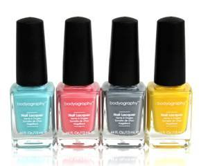 Island-inspired nail colors