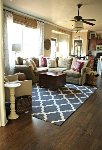 Inviting family space