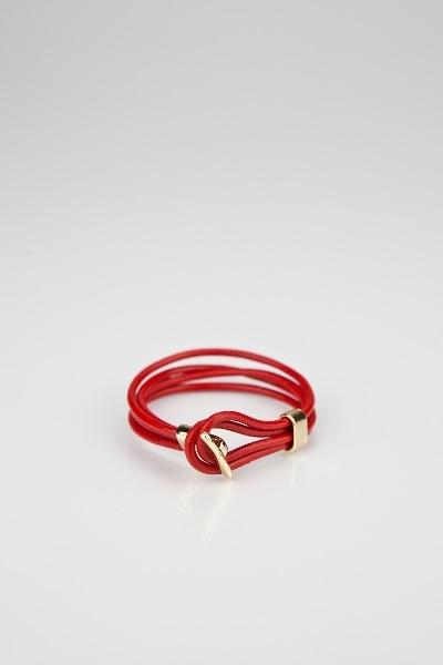 Red loop bracelet