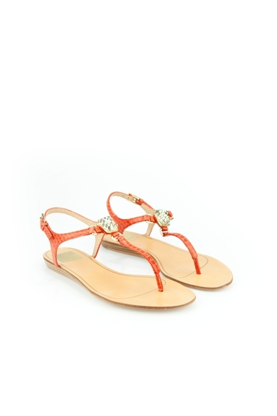 Isolde sandal in melon