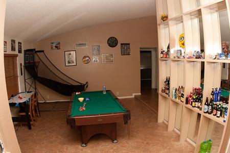 Norton's game room