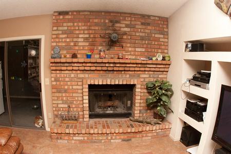 Norton's fireplace