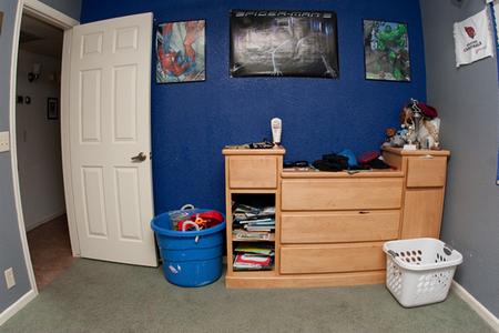 Zack's dresser, before