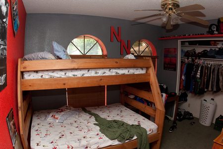 Nate Norton's bedroom