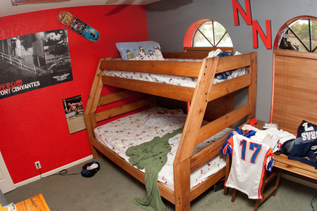 Nate's bed