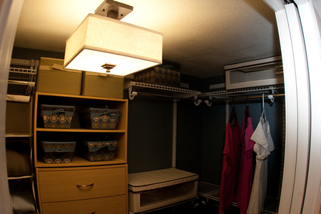 Closet, after