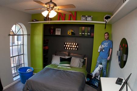 Nate's room, after