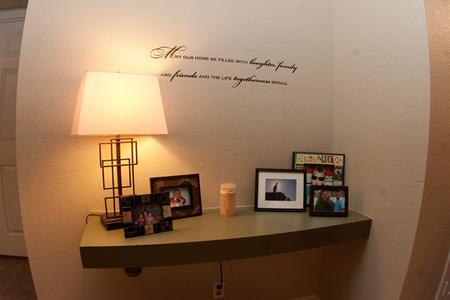 Entryway desk