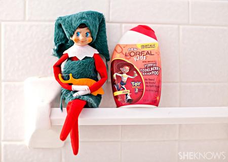 Elfie Rojo has good hygiene