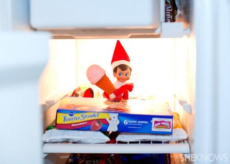 Elfie Rojo loves ice cream, who knew?