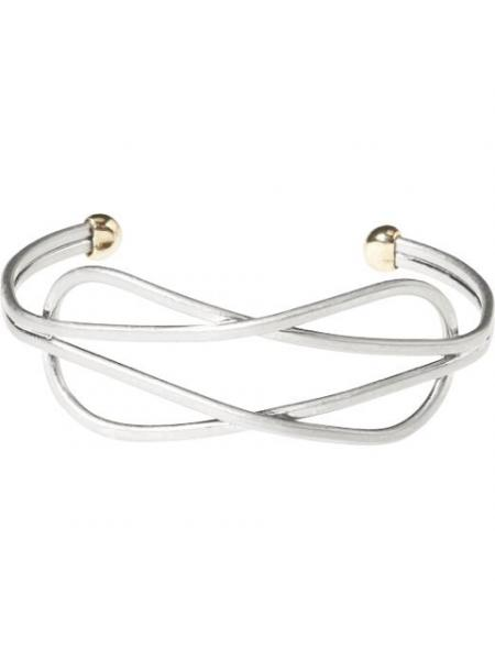 Intersecting Teardrop Bracelet