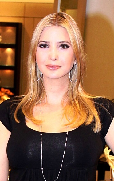 Ivanka Trump's long, blonde hairstyle