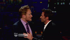 "Hugh Jackman appears on TBS's ""Conan"""