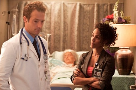 Michael Vartan and Jada Pinkett Smith on HawthoRNe
