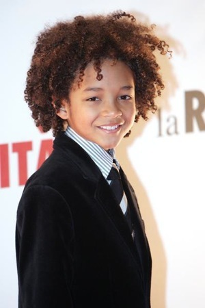 Jaden Smith is red carpet ready.