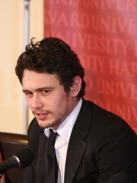 James Franco harvard