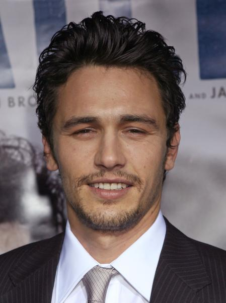 James Franco Milk premiere
