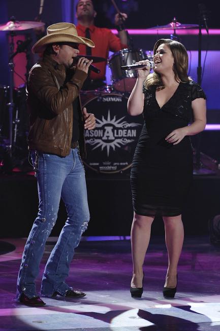 Kelly Clarkson & Jason Aldean