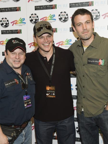 Jason Alexander, Matt Damon and Ben Affleck