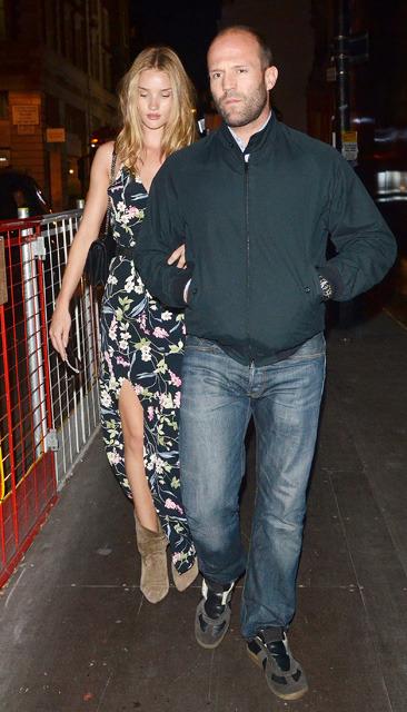 Jason Statham & Rosie Huntington Whiteley