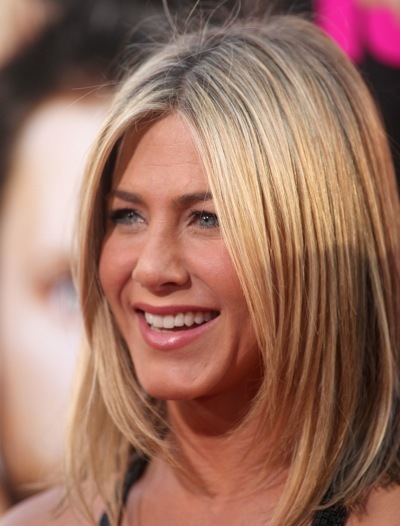 Jennifer Aniston with a soft haircut