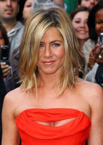 Jennifer Aniston in soft waves