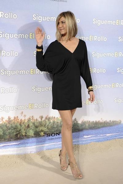 Jennifer Aniston with a deep v-neck
