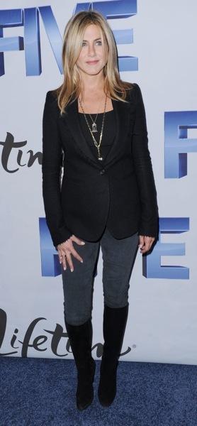 Jennifer Aniston in boots