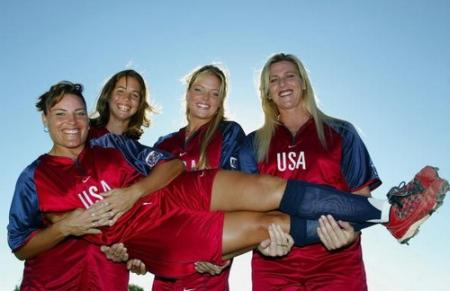 Jennie Finch and the Olympic Pitchers