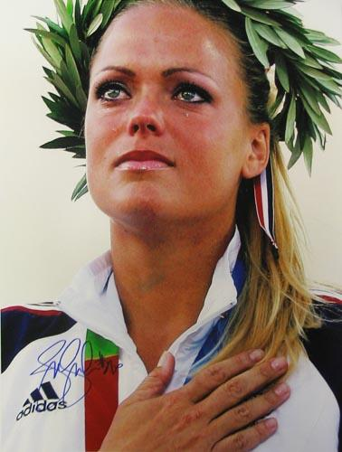 Jennie Finch at the 2004 Olympics