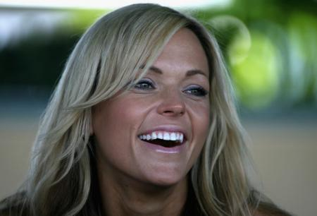 Jennie Finch at the Breeders' Cup