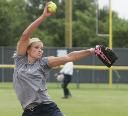 Jennie Finch's Fastball