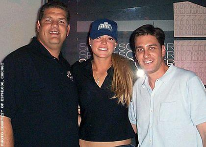 Jennie Finch with Mike & Mike