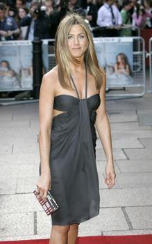 Jennifer Aniston at the UK film premiere of The Break-Up