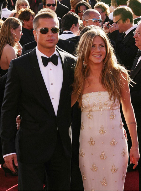 Jennifer Aniston & Brad Pitt (2004)