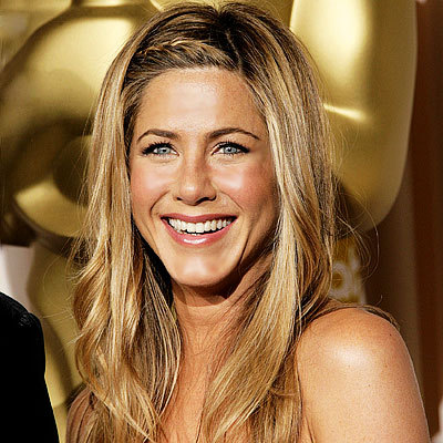 Jennifer Aniston's long sun-kissed hairstyle