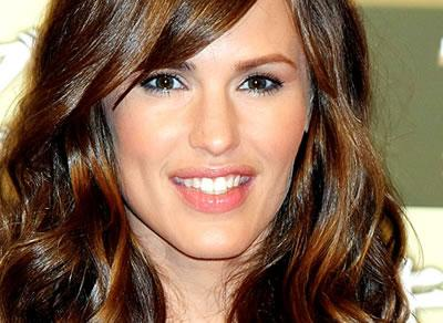 Close up of Jennifer Garner