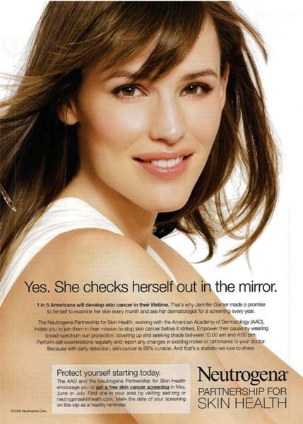 Jennifer Garner Neutrogena