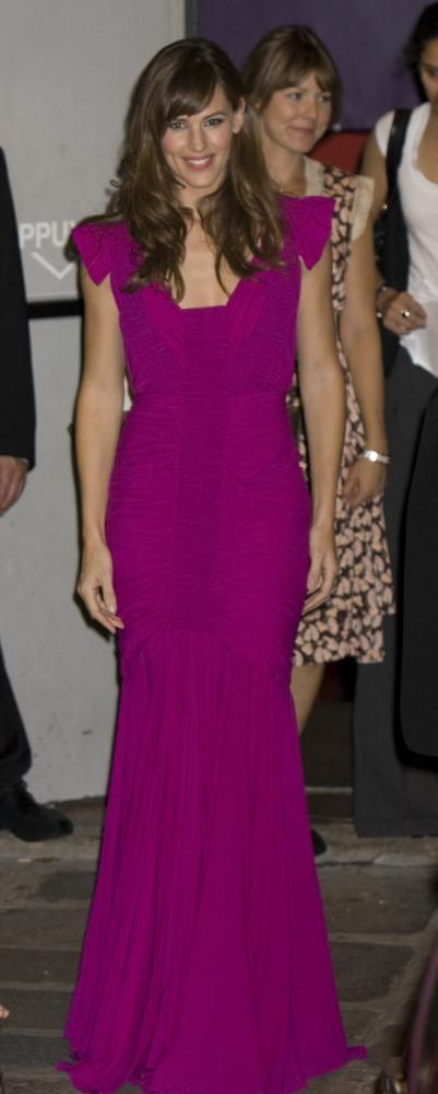Jennifer Garner at the Paris premiere of The Kingdom