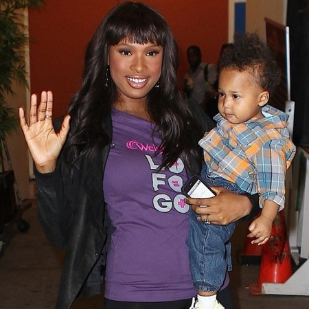 Jennifer Hudson and son