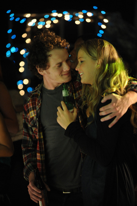Anton Yelchin and Jennifer Lawrence