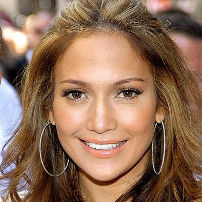 Jennifer Lopez close-up