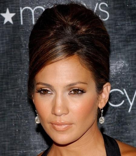 Jennifer Lopez beehive