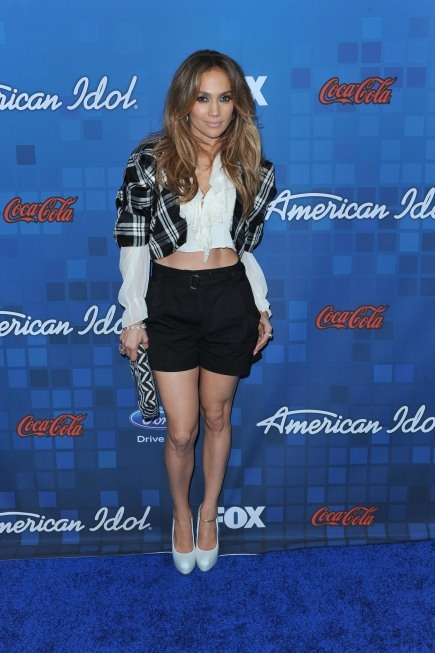 Jennifer Lopez in Shorts