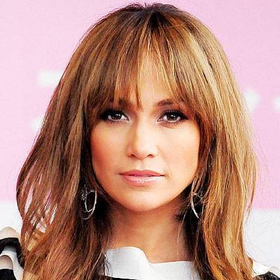 Jennifer Lopez bangs